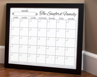 Print Your Own - Family Calendar - Style 1.2