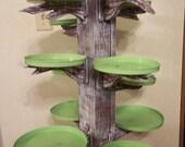 Custom cupcake tree stand server holds 200 cupcakes
