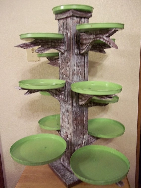 Custom cupcake tree stand server holds 200 cupcakes