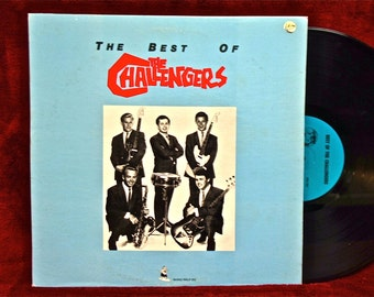 THE CHALLENGERS - The Best of the Challengers - 1982 Vintage Vinyl Record Album
