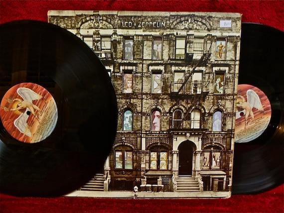 Led Zeppelin Physical Graffiti 1975 Vintage Vinyl 2 Lp