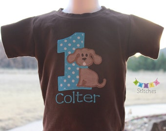 Puppy Birthday Shirt-  PERSONALIZED