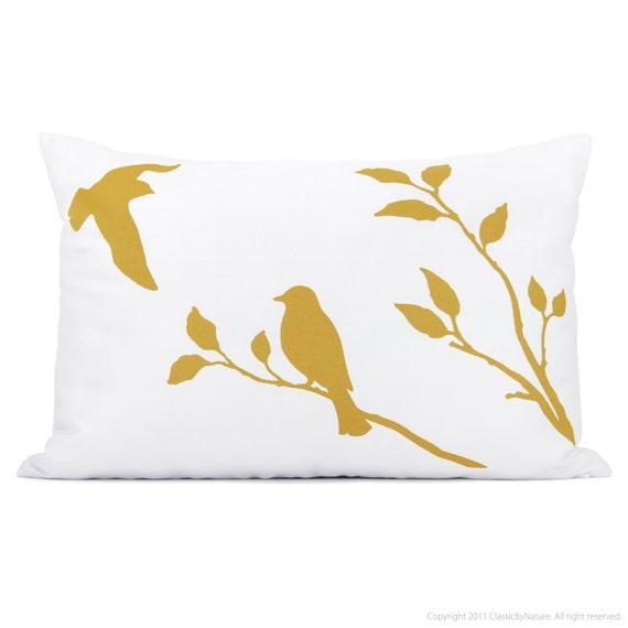 articles similaires coussin d coratif 12x18 jaune moutarde et blanc housse de coussin avec. Black Bedroom Furniture Sets. Home Design Ideas