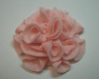 Add a Felt Flower to any Sleep Mask - Light Pink