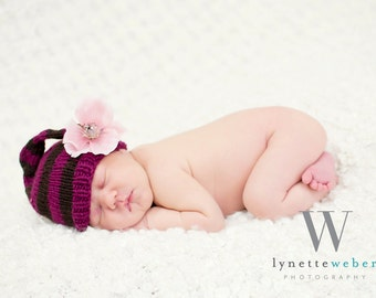 Pattern Pack- Baby Commercial Yarn Selection- One Skein Skirt, Striped Hat, Pixie, Pom Pom
