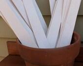 "Garden Markers- 1 Dozen White Blank 12"" Garden Stakes"