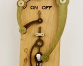 Toggle Light Switch Plate - Earth Tone Styling