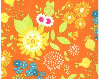 1 Yard Snap Pop Tiger Lily Large Floral by Sandy Gervais for Moda