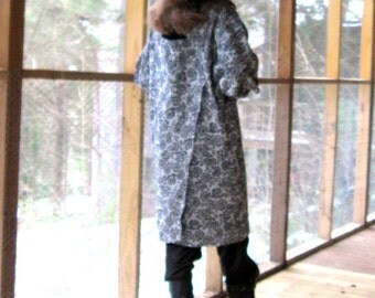 CUSTOM Dress in a wedge shape wraps in front and in back