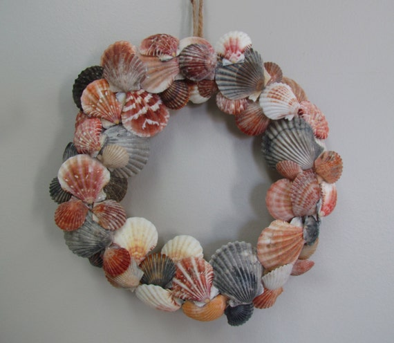 Scallop Shell Coastal Wreath