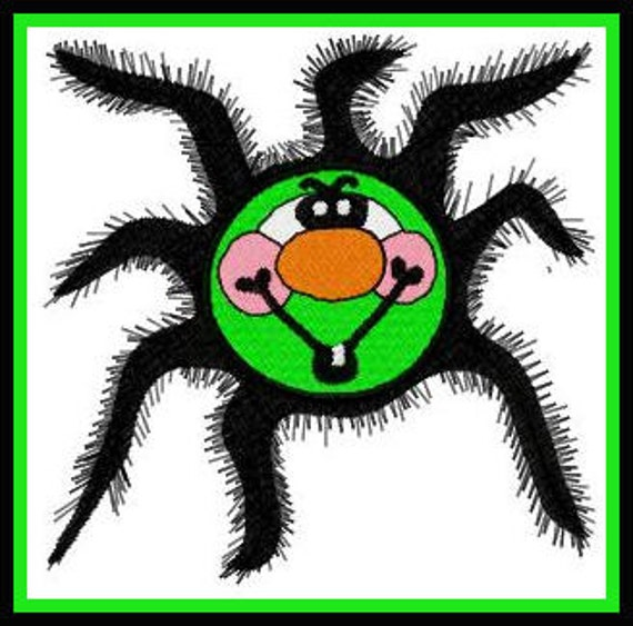 Halloween Spider, 3 Sizes - Machine Embroidery