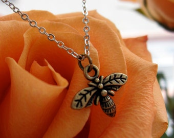 The Tiny Bee Necklace