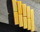 Pure Beeswax Blocks - 10 one ounce blocks- great for crafting
