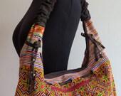 SALE,End of Line,,,, Bohemian Hmong Ethnic Handbags vintage fabric-tribal Handbags and purses from -Thailand