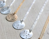 Zodiac Constellation Necklace | Constellation Charm | All Constellations | Sterling Silver | Gold Filled | Rose Gold Filled