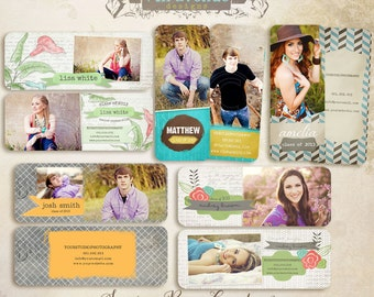 Senior Rep Card templates for photographers vol.2