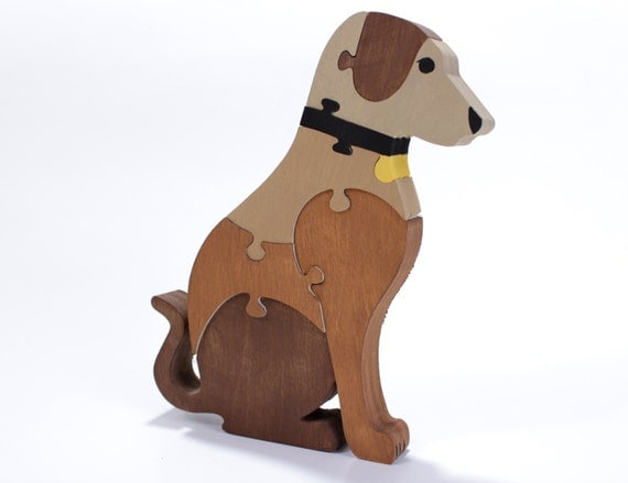 Dog Puzzle and Decor