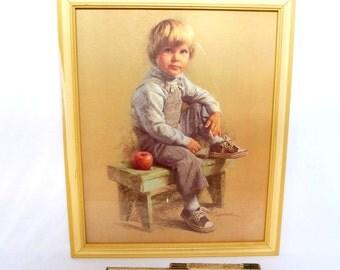LITTLE BOY PRINT/ James Ingwesen
