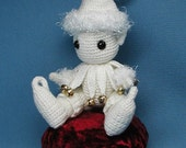 Collectible Crochet Artist Miniature Winter Elf by Jan
