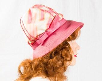 50% OFF SALE / vintage 1960s hat / designer hat / Christian Dior