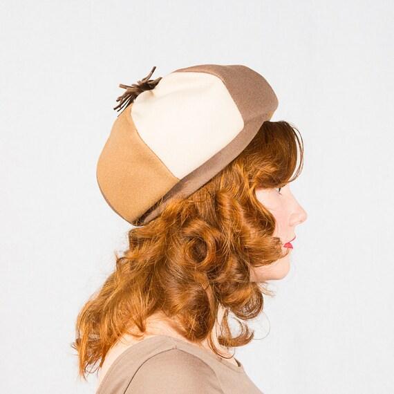 SALE / vintage 1960s hat / wool hat / Sears Fashion