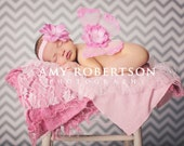 BELLA BEBE Amazing Jeweled Pink Butterfly Angel WINGS with Hand Sewn Pink Sequin Flower Center - Amazing Photo Prop