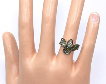 Abalone Ring Size 6