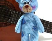 Pattern, Teddy Bear Pattern, Crochet Tutorial, Amigurumi Teddy Bear Pattern - Crochet Teddy Bear Pdf Tutorial