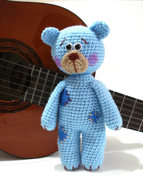 Amigurumi Pattern Teddy Bear : Pattern Teddy Bear Pattern Crochet Tutorial Amigurumi Teddy