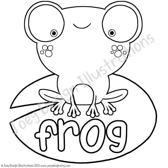 cute frog coloring pages cute frog coloring page