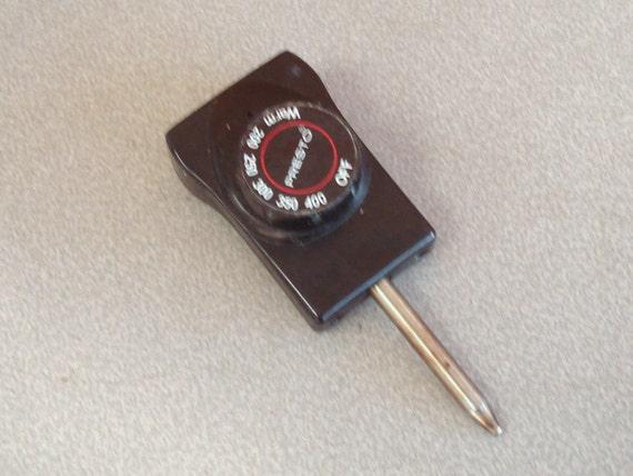 Presto Electric Deep Fryer Dutch Oven Plug Temperature Control