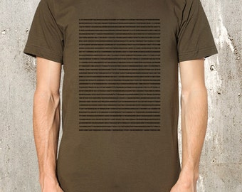 Pi T-Shirt - Men's Screen Printed American Apparel T-Shirt - Available in S, M, L, XL and 2XL