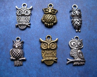 Owl Charm Collection - C1396