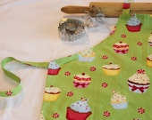 Christmas Cupcakes Youth Size Apron