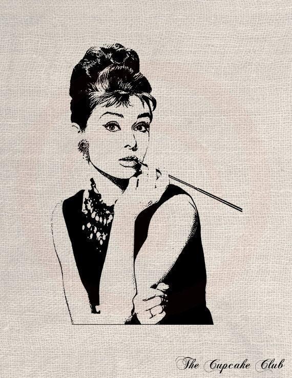 clip art dessin, transfert, fichier digital vintage téléchargement