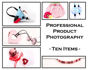 Professional Product Photography Services - 10 Items