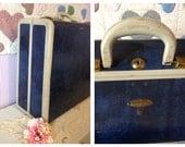 Samsonite Luggage Blue Suit Case Suitcases