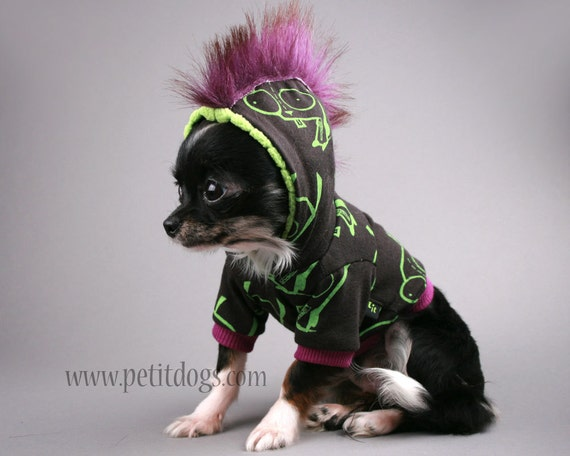 Dog Mohawk Sweater Mohawk Small Dog Clothes