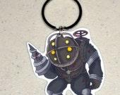 Big Daddy - Bioshock Keychain