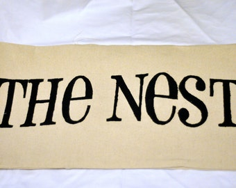 The Nest 12 x 22 Pillow Cover