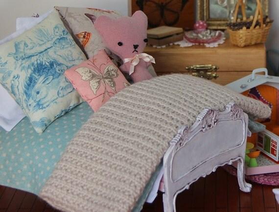 PATTERN Bedding Set For Playscale Dolls Blythe Bratz