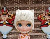 Knitting Pattern- Felted Helmet for Blythe