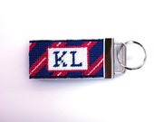 Needlepoint Kit - Monogrammed Key Fob