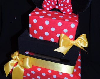 Minnie Mouse Card Box - Minnie Mouse Party Decorations