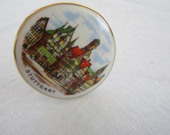 Porcelain Cork Stopper from Stuttgart Germany