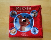 Rudolph and Friends Fabric Book