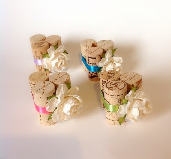 Wine Cork Table Numbers: Items Similar To Wine Cork Place Card Holder, Table Number