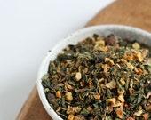 Get Up And Go, Organic Nettle Herbal Tea Blend, Robust Loose-Leaf Caffine-Free Energy 3 oz