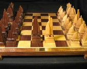 Chess Set Sailboat Chess Set America's Cup Edition       on etsy by Jim Arnold on Etsy