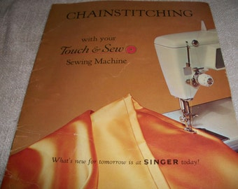 Singer Touch & Sew Sewing Machine Manuals
